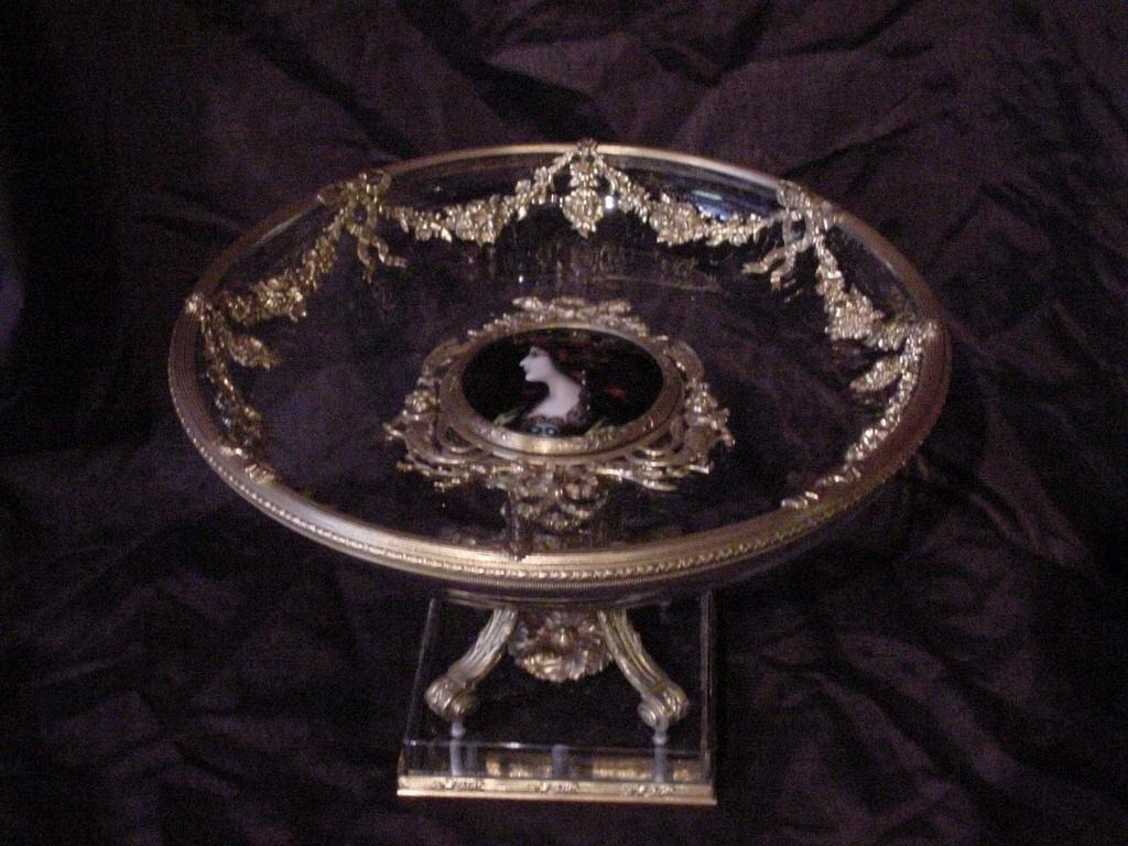 Bronze & Glass Dish