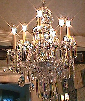 Fabrication of Crystal Chandelier